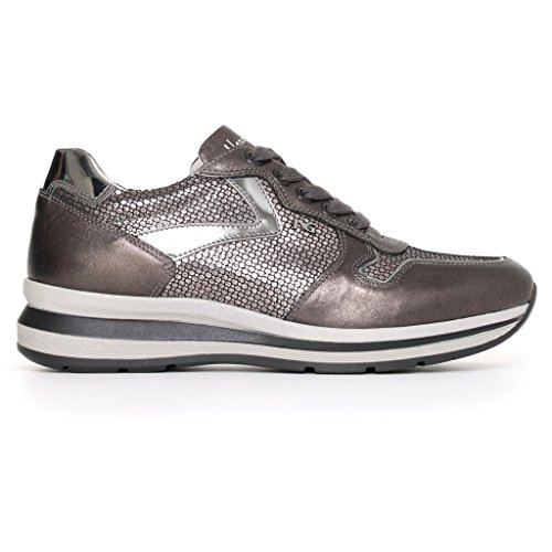 femme Nero basses Sneakers Giardini Anthracite tq7q0RrA