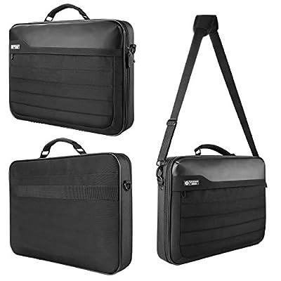 """Acer Aspire 11.6"""" 12"""" 13.3"""" 14"""" 15.6"""" 17.3"""" Black Hard Protetive Laptop Case Cover Shoulder Bag"""