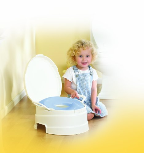 Primo 4 In 1 Soft Seat Toilet Trainer And Step Stool White