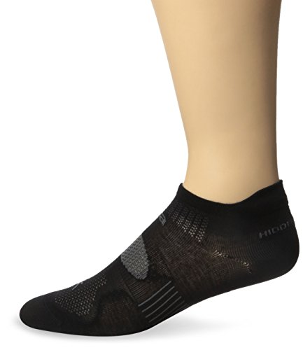 Balega Hidden Dry 2 Socks, Black, Medium