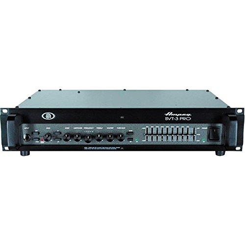 (Ampeg SVT-3PRO Pro Series Tube/Solid-State Hybrid Bass Amplifier Head, 450 Watt)