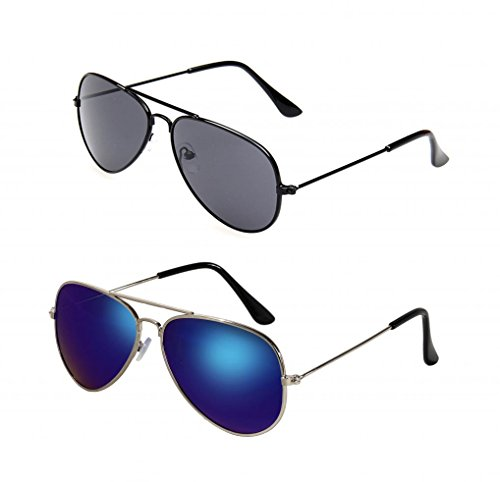 752b573339 WODISON Kids Classic Aviator Sunglasses Metal Frame Children