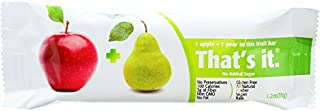 product image for THATS IT FRUIT BAR APPLE PEAR, 35 GM, PK- 12