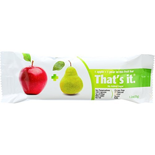 That's It Apple and Pear Fruit Bar 1.2oz (Pack of 12) ( Value Bulk Multi-pack)