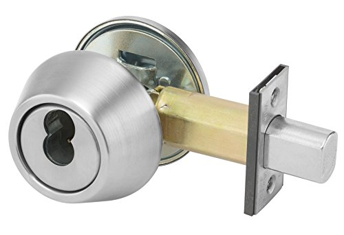 (Yale B-D112 626 D243 SFICLC 100 Series Deadbolt, Cylinder by Thumbturn, SFIC Cylinder Prep Less Cylinder, 2 3/4