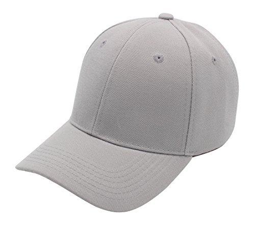 Top Level Baseball Cap Hat Men Women - Classic Adjustable Plain Blank, LGY