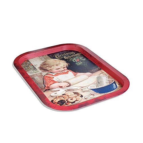 Ohio Wholesale Adorable Vintage Style Child Cookie Tin - Tray Wholesale