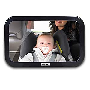 Innoo tech retrovisor beb espejo inastillable for Espejo retrovisor bebe