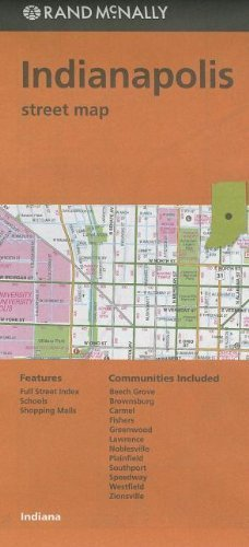 Buy new rand mcnally indianapolis street map