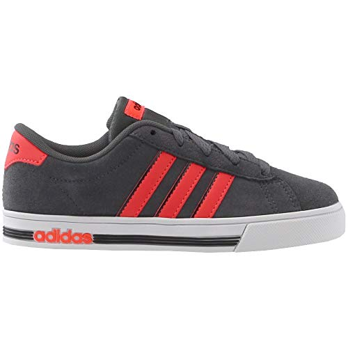 Pictures of adidas Kids' Daily Team Sneaker BC0155 Grey/Red 7