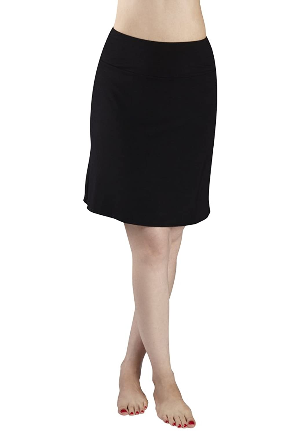 30 in touch bamboo above the knee skirt www