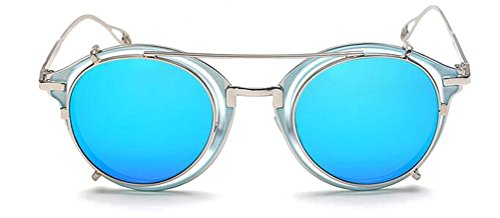 GAMT Reflective Round Sunglasses Unisex Retro Style - Most Sunglasses The Brand Expensive