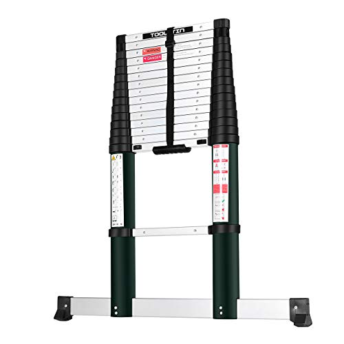 Toolitin 15.5FT Telescoping Ladder