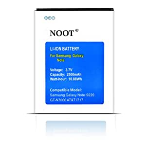 NOOT® 2500mAh Replacement Battery for EB615268VA Samsung Galaxy Note SGH-I717 AT&T [24-Month Warranty No Hassle Money Back Guaranteed]