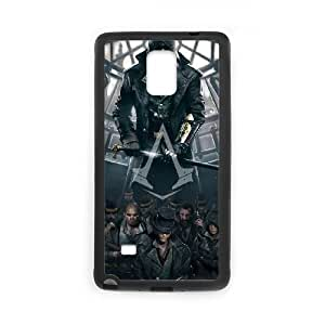 Assassin'S Creed Ii Samsung Galaxy Note 4 Cell Phone Case Black TPU Phone Case SV_273312