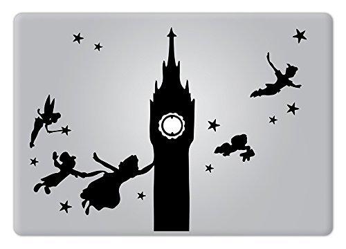 Peter Pan Disney Apple Macbook Decal Vinyl Sticker Apple Mac Air Pro Retina Laptop sticker