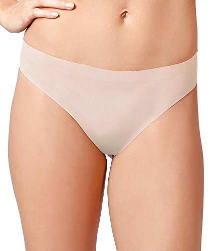 Knix Wear Women's Fitknix Air Athletic Moisture Wicking Thong, Nude, Medium