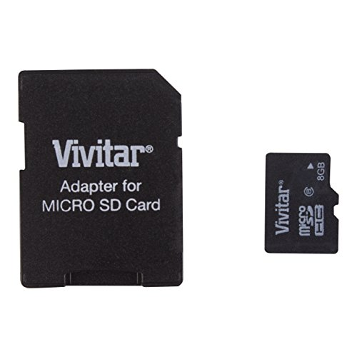 Vivitar 8 Gb Micro Sd Card and Adapter