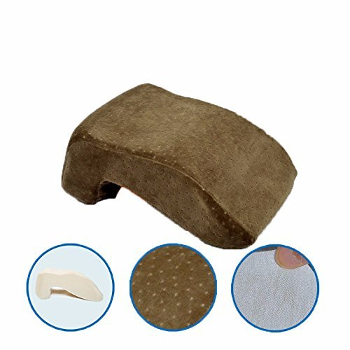 HOMEE Sleeping Pillow Lunch Break down Pillows Office Nap Pillow Lunch Sleeping Pillow Students Pillow Memory Only Cotton Pillows and down Sleeping Pillow,Espresso Brown,Foundation by HOMEE