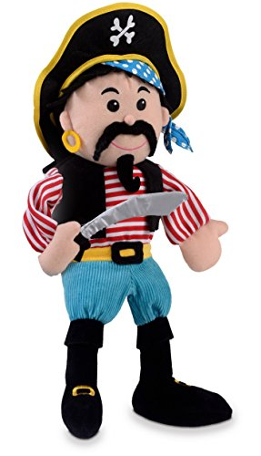 Fiesta Crafts Stripes Pirate Hand Puppet ()