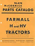 International Farmall H Parts Manual