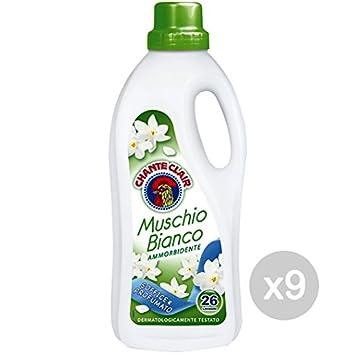 Juego 9 Chante Clair Suavizante Musgo LT 1,56 Detergente Lavadora ...