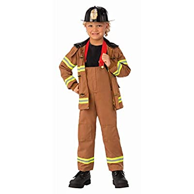 Rubie's Child's Junior Fireman Costume, X-Small: Toys & Games