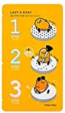 Facial Mask Gelatin Milk - Holika Holika - Lazy & Easy - Pig Nose Clear - 1 x Black Head 3-Step Kit (Gudetama Edition) for men and woman - Face - Cleansers & Exfoliators - Facial Care