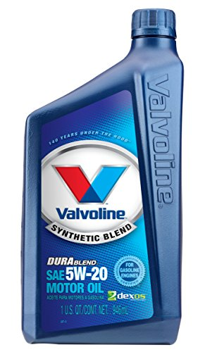 Valvoline 5W-20 DuraBlend Synthetic Blend Motor Oil - 1qt (Case of 6) (VV317-6PK)