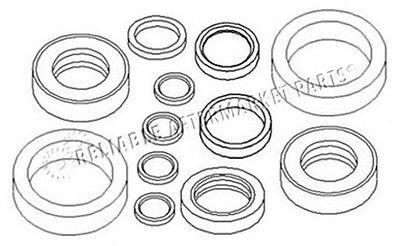 AW20285 New Seal Kit For John Deere Loader Bucket Cylinder 143 Rod & Bore - John Deere Loader