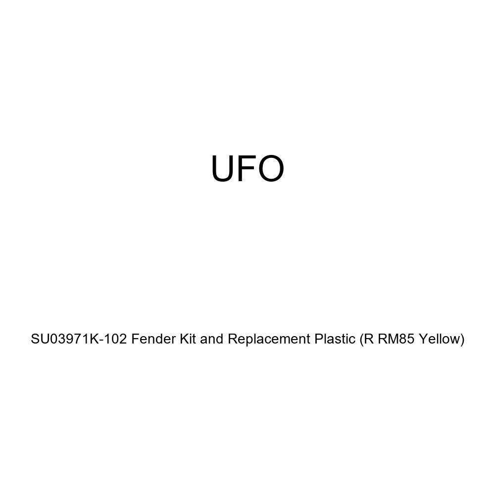 R RM85 YELLOW UFO SU03971K-102 Fender Kit and Replacement Plastic
