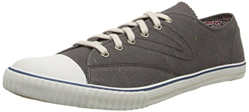 Price comparison product image Tretorn Men's Tournament Fleck Fashion Sneaker, Dark Gull Gray, 8.5 D US