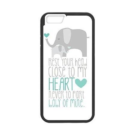 iPhone 6 6S Plus 5.5 Inch funda [Negro] Dumbo [Theme] iPhone 6 6S ...