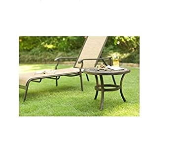 Martha Stewart Living Patio Side Table   Includes Leg Levelers For Sturdy  Placement Part 49