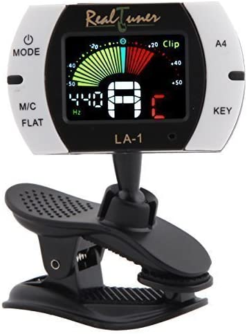 Real Tuner - Chromatic Clip-on Tuner