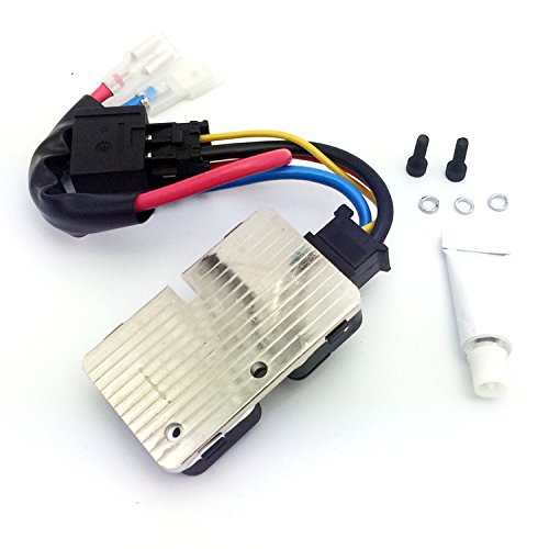 New A/C Heater Blower Motor Resistor with Lead - 92 500sel Blower Motor Resistor