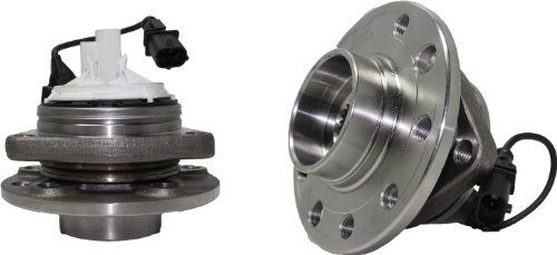 Brand New (Both) Front Wheel Hub and Bearing Assembly for 2003 SEDAN 2004 2005 2006 2007 2008 2009 2010 2011 Saab 9-3 5 Lug (Pair) 513191 x2