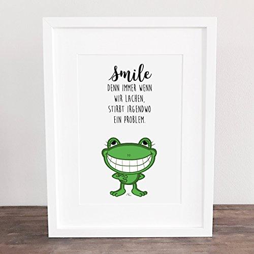 sprüche mit smile Bild, Poster, Sprüche, Spruch Geschenkidee