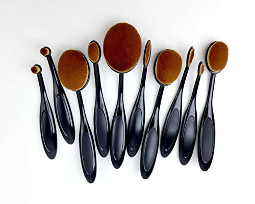 - Life Changing Blending Brushes by Picket Fence Full 10 Pack Set Fine to Broad Application Assortment