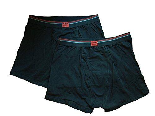 UPC 789374463955, Life By Jockey Men's Boxer Briefs, 2-Pack (Large, Black/Black)