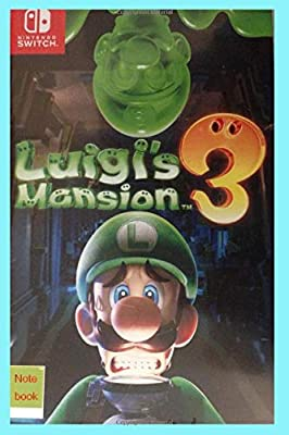Nintendo switch Luigis mansion 3 note book: Amazon.es: biscuit ...
