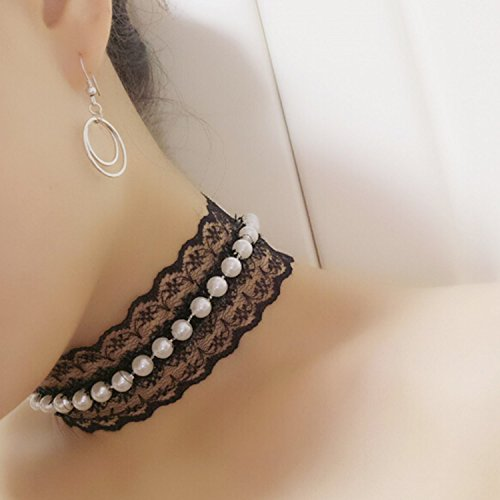 Bridalvenus Gothic Velvet Choker Necklace