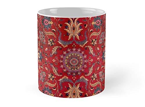 - Antique Persian Rug Mug - 11oz Mug - Dishwasher safe - Made from Ceramic.