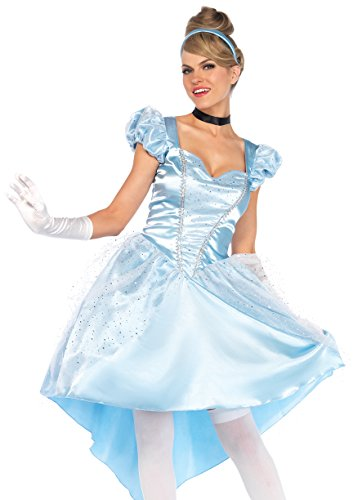 Adults Cinderella Costumes (Enchanting Cinderella Adult Costume - Small)