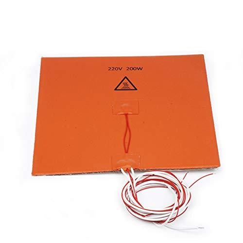 CNluca for Cama de Silicona 220v200W + Aislamiento de algodón 200 * 200 mm