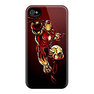 For ChrisHuisman Iphone Protective Cases, High Quality For Iphone 6 Flying Iron Man Skin Cases Covers