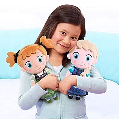 Disney Frozen Bedtime Cuddle Plush Young Elsa: Toys & Games