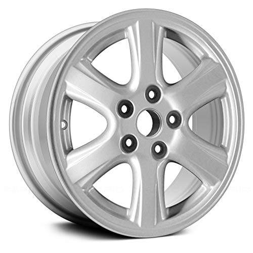 - Replacement 6 Spokes All Painted Silver Factory Alloy Wheel