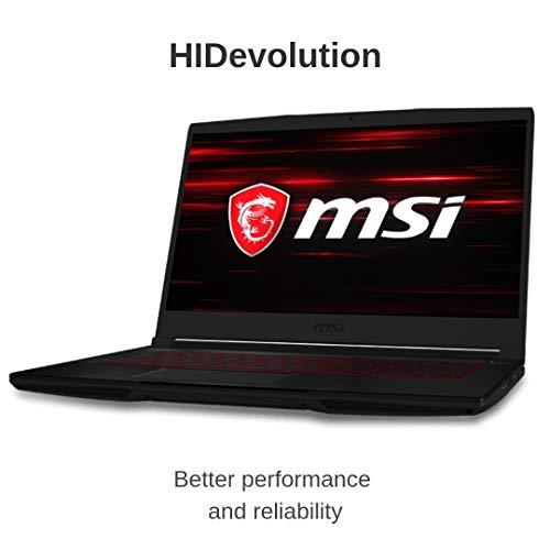 Compare HIDevolution MSI GF63 Thin 9SC (MS-GF63652-HID4) vs other laptops