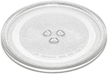 Plato de cristal de 24,5 cm para hornos microondas DeLonghi ...